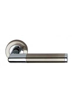 Дверные ручки Linea Cali Karina 102 никель мат/хром