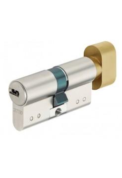 Цилиндр Abus D15 90 (40x50Т) никель/латунь