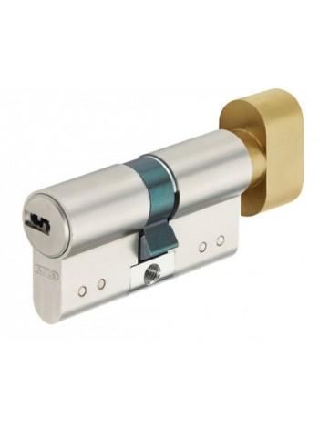 Цилиндр Abus D15 80 (45x35Т) никель/латунь