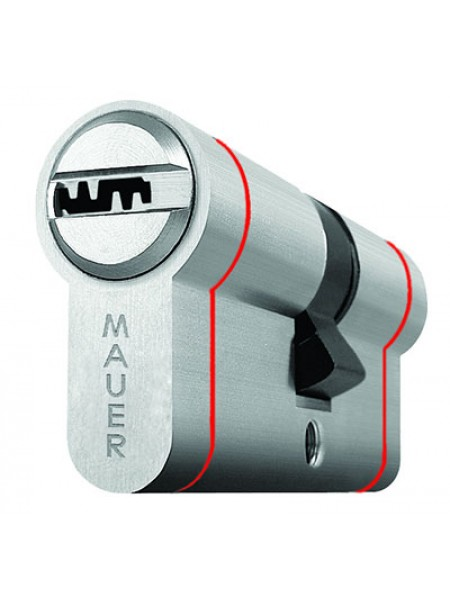 Цилиндр Mauer Elite 2 Red Line 102 (51x51) Ni никель