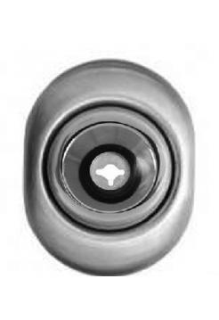 Протектор Mul-t-lock/Esety Omega A625 сатин хром (PVD)