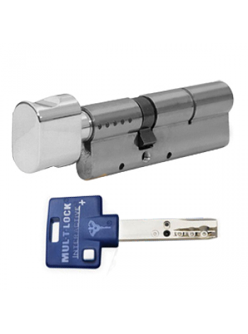 Цилиндр Mul-t-lock Interactive+ 80 (35x45Т) никель