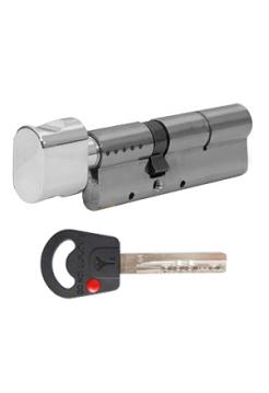 Цилиндр Mul-t-lock Classic 66 (33x33Т) никель