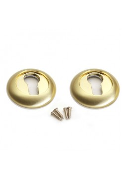 Накладки под цилиндр Apecs DP-C-05-GM Premer, матовое золото