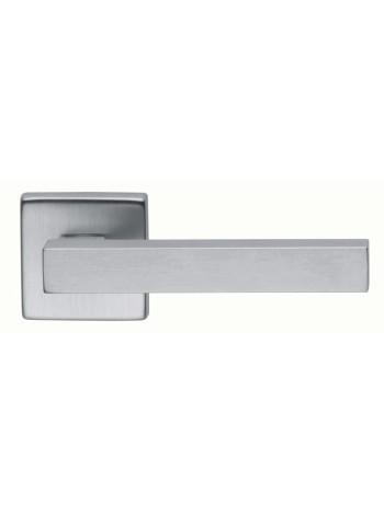 Ручки дверные Martinelli STICK DUE ZCS, матовый хром + поворотник WC