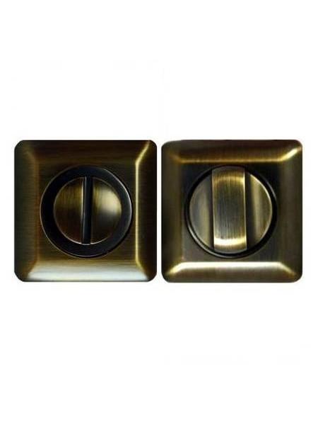 Поворотник Apecs WC-0503-SQUASRE-CF, светлая медь