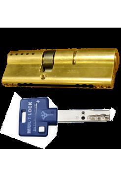 Цилиндр Mul-t-lock Interactive+ 100 (45x55) латунь