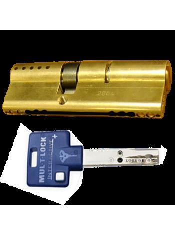 Цилиндр Mul-t-lock Interactive+ 105 (40x65) латунь