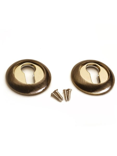 Накладки под цилиндр Apecs DP-C-05-AВ Premer, бронза