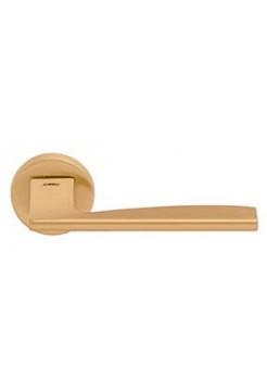 Ручка Mandelli 1031 Link, матовая латунь + WC поворотник