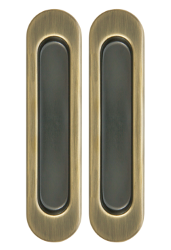 Ручки для раздвижных дверей Armadillo SH010-AB-7, бронза