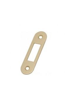 Ответная планка AGB B.01000.40.03 (защелка) без отбойника, латунь