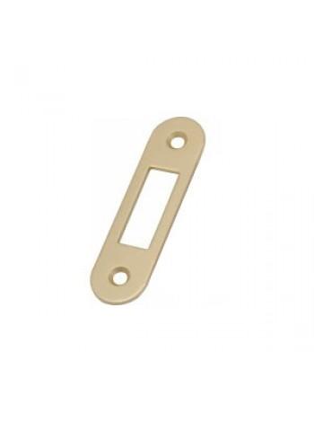 Ответная планка AGB B.01000.40.23 (защелка) без отбойника, латунь мат.