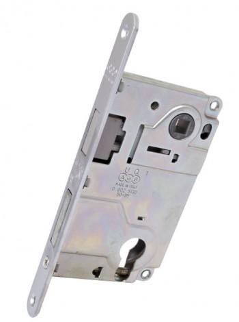 Межкомнатный механизм AGB  B.010255034 Centro под евроцилиндр, хром мат.