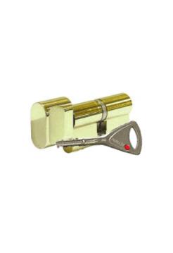 Цилиндр Abloy Protec 2 333N 78 (32x46Т) закаленный, латунь