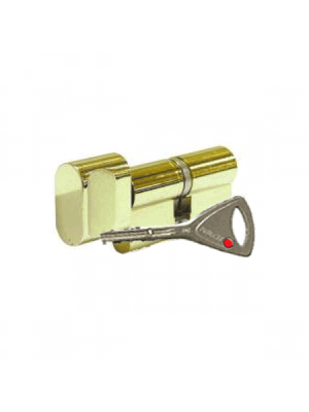 Цилиндр Abloy Protec 2 333N 123 (62x61Т) закаленный, латунь