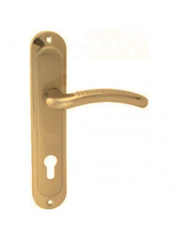 Ручка Apecs НP-85.0326-AL-S/G, ECO (сатин/золото)