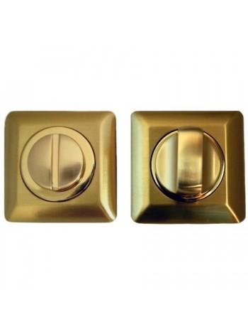 Поворотник Apecs WC-0503-SQUASRE-GM, матовое золото