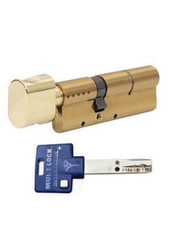 Цилиндр Mul-t-lock Interactive+ 110 (50x60Т) латунь