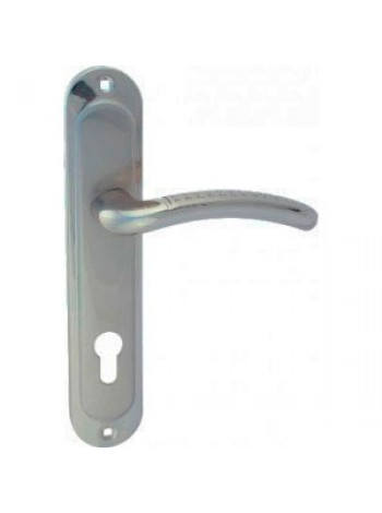 Ручка Apecs НP-85.0326-AL-S/Ni, ECO (сатин/никель)