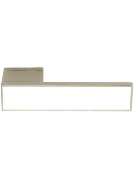 Дверные ручки ILAVIO 2366 матовый хром/белый