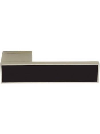 Дверные ручки ILAVIO 2366 матовый хром/черный