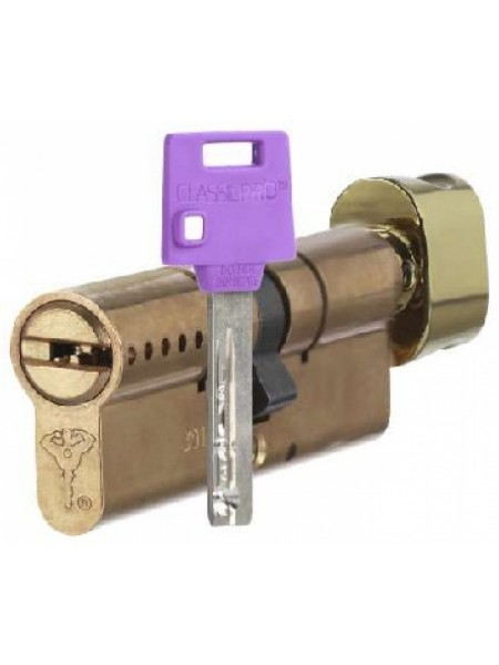 Цилиндр Mul-t-lock ClassicPro 81 (31x50T) латунь