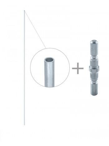 Удлинитель верхней тяги ISEO к комплекту 032184 0321A4 для дверей высотой до 3400 мм