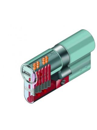 Цилиндр Abus D15 100 (50x50Т) никель