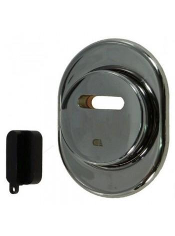 Броненакладка магнитная Disec MR-02 хром матов.