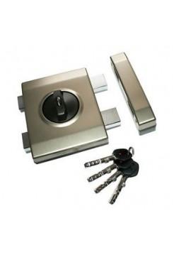 Накладной замок Gerda Tytan ZX Plus (короткий ключ)
