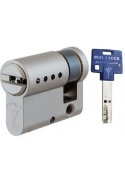 Цилиндр Mul-t-lock Interactive+ 42,5 (33x9,5) никель