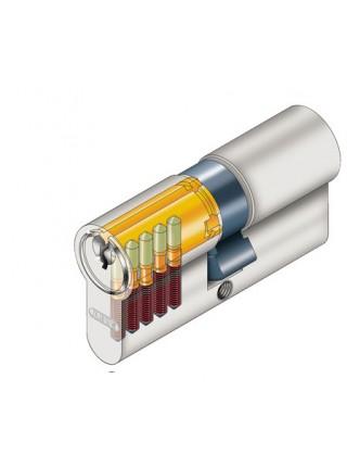 Цилиндр Abus E50 80 (40x40Т) латунь