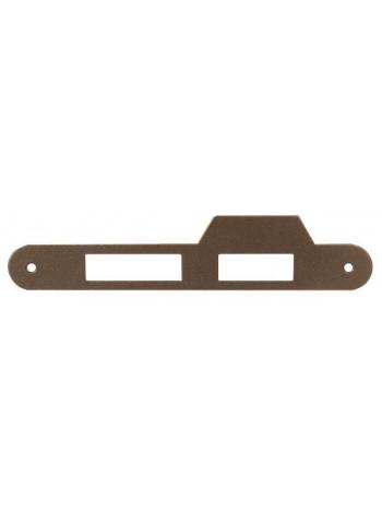 Ответная планка AGB B.01000.21.22(защелка+ригель) с отбойником, бронза