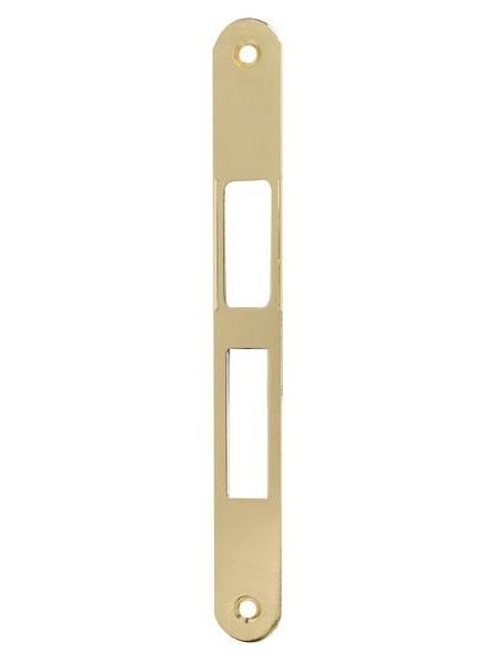Ответная планка AGB B.014024003 к механизму Сentro Focus, латунь