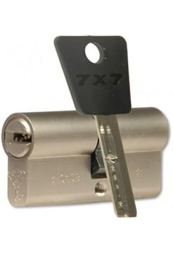 Цилиндр Mul-t-lock 7x7 120 (60x60) никель