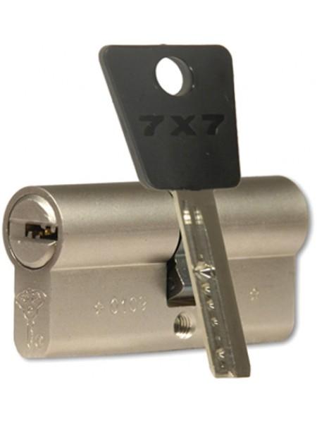 Цилиндр Mul-t-lock 7x7 100 (50x50) никель