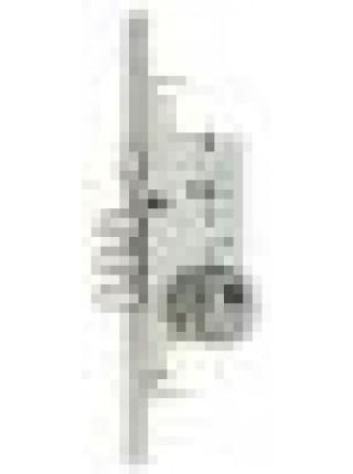 Замок врезной МСМ 801F, никель