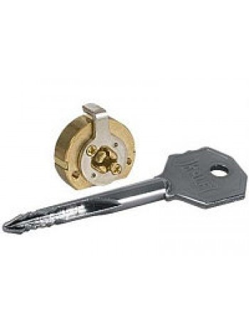 Цилиндр Kale 164 FB для замков с крест. ключами,5 кл.