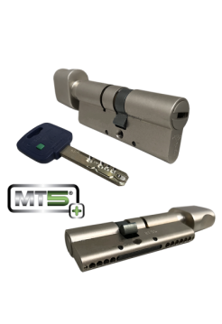 Цилиндр Mul-t-lock MT5+ 120 (55x65Т) никель