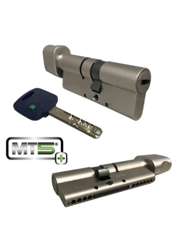 Цилиндр Mul-t-lock MT5+ 100 (45x55Т) никель