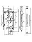 Замок врезной Mul-t-lock MATRIX DFM3 (Esety)