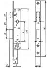 Замок Dead Lock Santos 726, 90/20