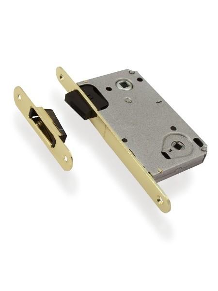 Защелка межкомнатная Apecs 5300-М-WC-G (магнитная), золото