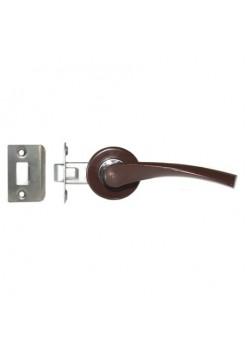 Ручка-защелка Арико ЗЩ 114-5, коричневая