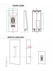Система Kale X10 Smart Lock с отпечатком пальца