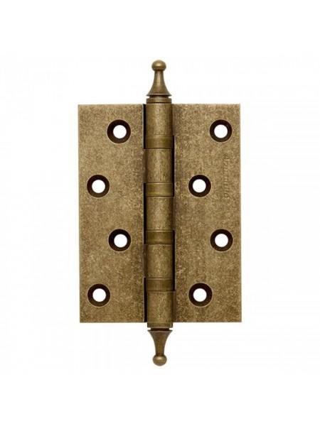 Петли универсальные 4500A (500-A4) 100x75x3 OB античная бронза