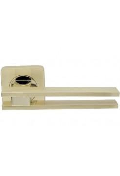 Ручка на розетке Armadillo  BRISTOL SQ006-21SG/GP-4 мат золото/золото