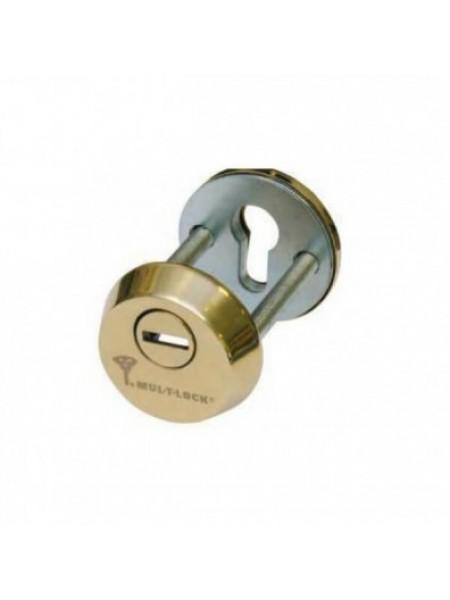 Броненакладка Mul-t-lock SL-3 полиров. латунь