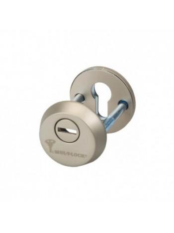 Броненакладка Mul-t-lock SL-3 никель сатин